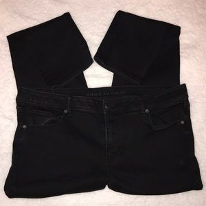 Black American Eagle jeans size 20 Long